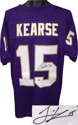 Jermaine Kearse signed Purple College Football Jersey #15 XL- Mill Creek Holo   eBay
