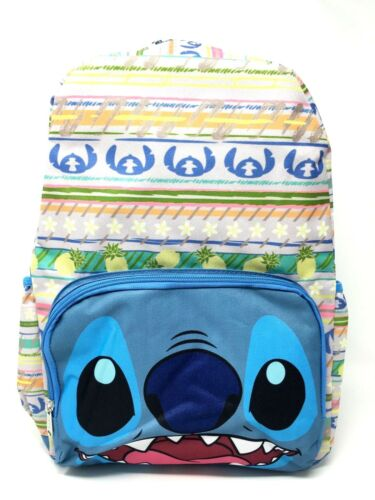 "16/"" Licensed New Disney Lilo and Stitch Cargo Large School Backpack For Kids"