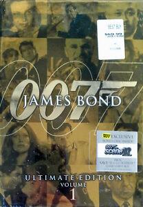 JAMES-BOND-ULTIMATE-EDITION-VOLUME-1-10-DVD-BOX-SET-BONUS-DISC-SEALED