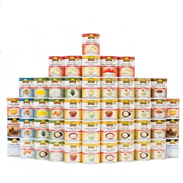 Augason Farms Emergency Food Storage Kit Mre Freeze Dried Survival Dehydrated