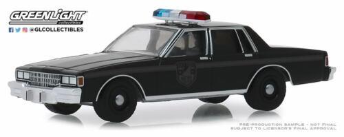 A.s.s nuevo GreenLight 1//64 chevrolet caprice Police 1980 Black Bandit series 22