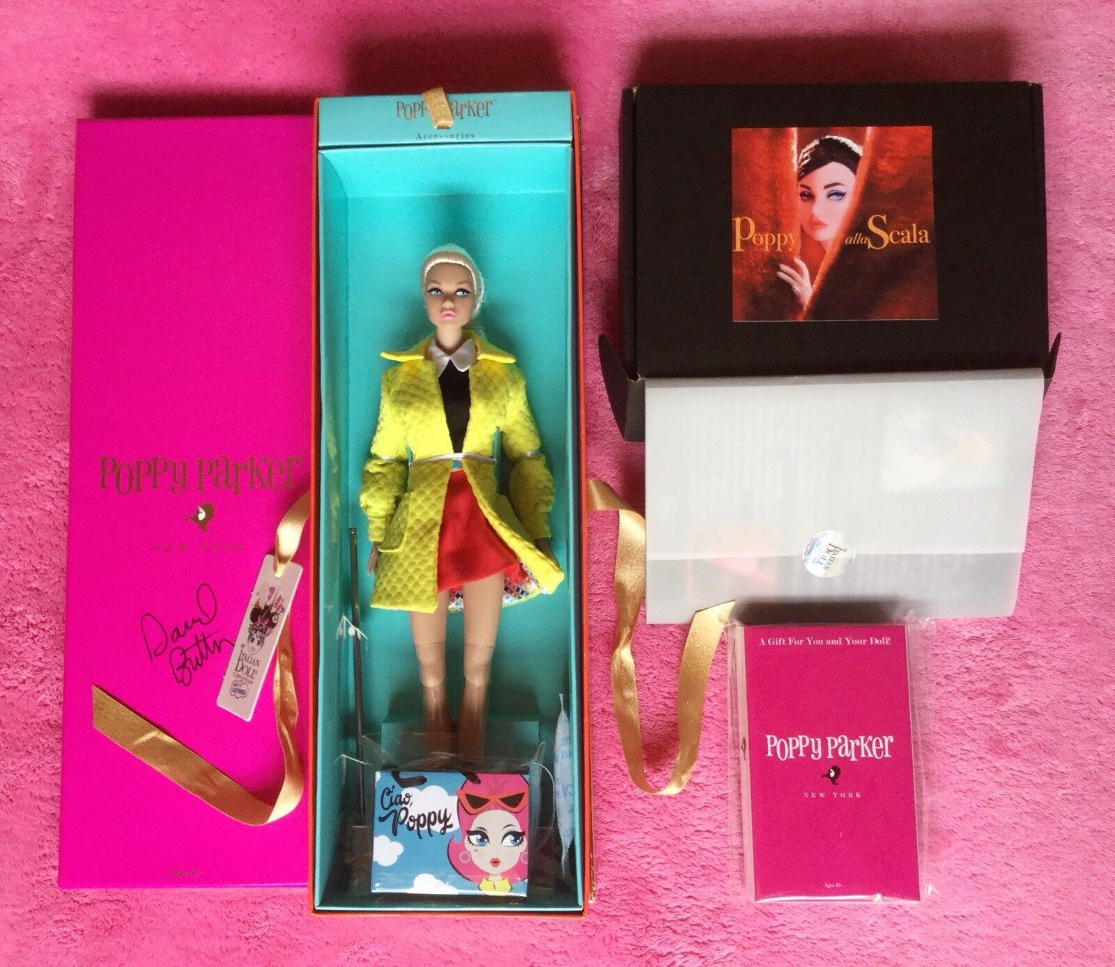 Ciao Poppy Parker IT Barbie + Extras NRFB Platinum