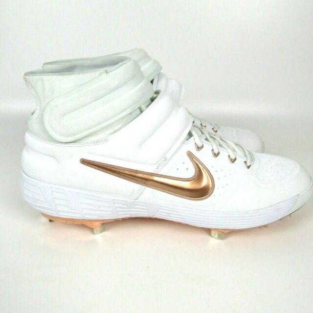 Size 16 - Nike Alpha Huarache Elite 2 Mid White Bronze