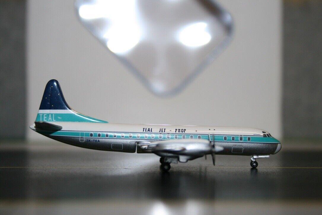 Aeroclassics 1 400 TEAL Air New Zealand Lockheed L-188 Electra ZK-TEA (ACZKTEA)