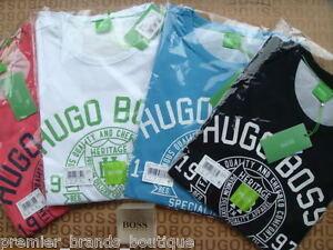415dfc2442c2 NEW HUGO BOSS MENS DESIGNER IVY LEAGUE BLUE BLACK WHITE RED GREEN ...