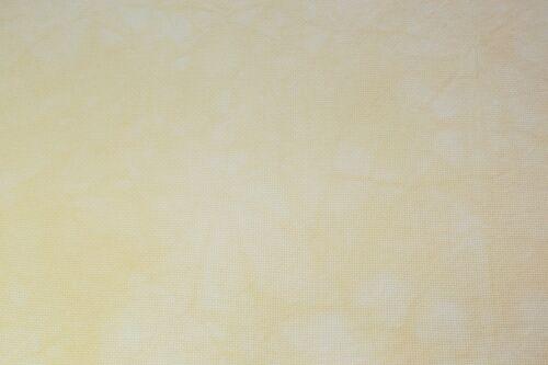 Hand-dyed Aida Cloth-Daffodil-11 Count thru 18 Count DMC cross-stitch fabric