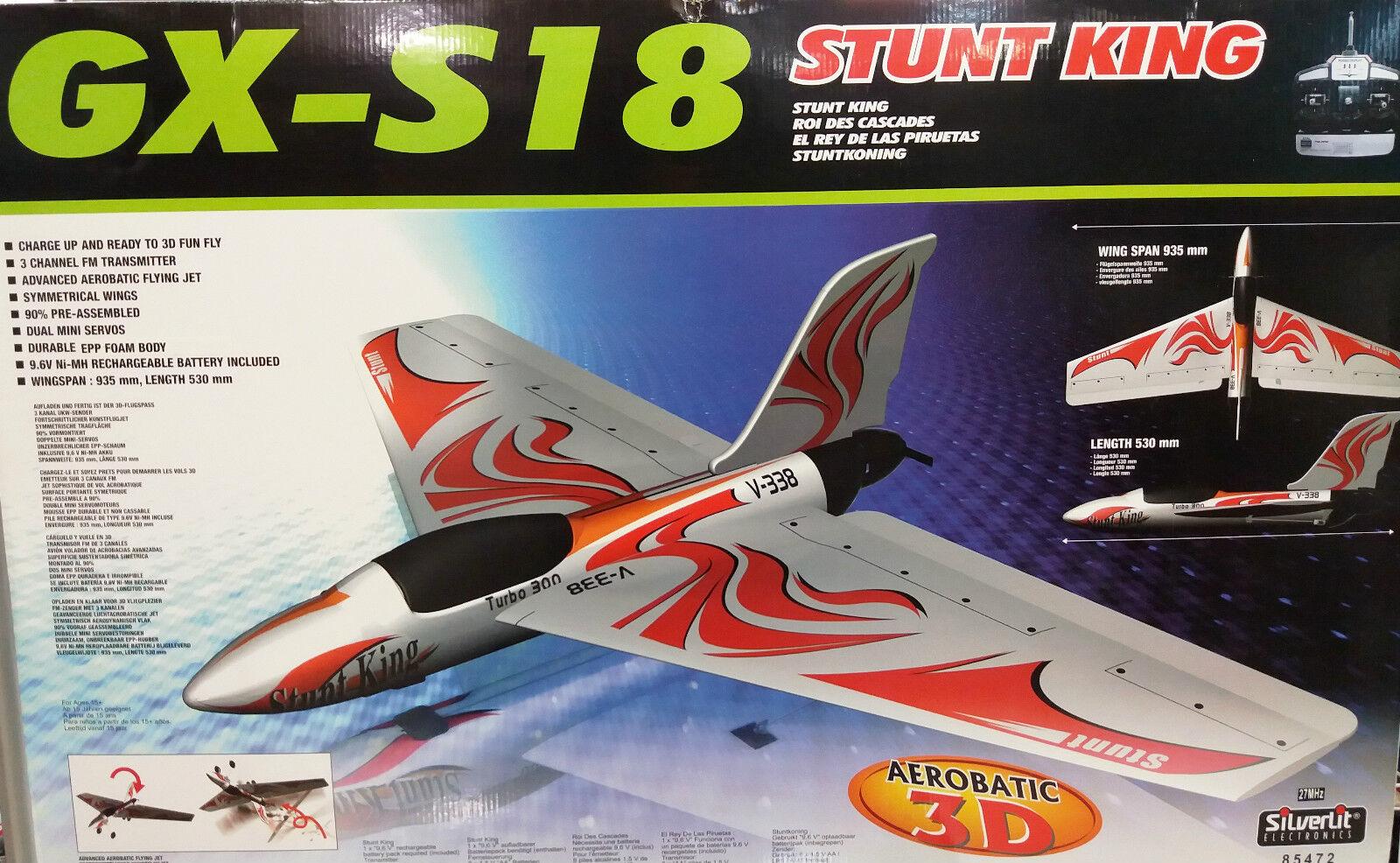 AVION GX-S18  STUNT KING RTF  ACROBATICO 3D
