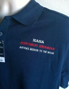 "LARGE NORTHROP GRUMMAN NASA JACKET /""ARTEMIS MISSION TO THE MOON/""           shirt"