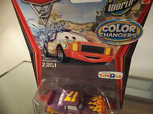 color Changers DARRELL CARTRIP  G PRIX Announcer ! Disney pixar cars Colour