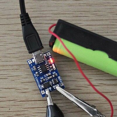 1A 5V Micro USB 18650 Lithium Battery Charger Board Protect Module TP4056 TE420