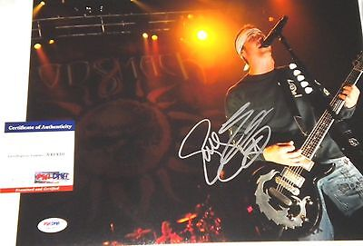 Godsmack Sully Erna Signed 11x14 Photo Psa/dna Coa Weekend Sale Quell Summer Thirst Music