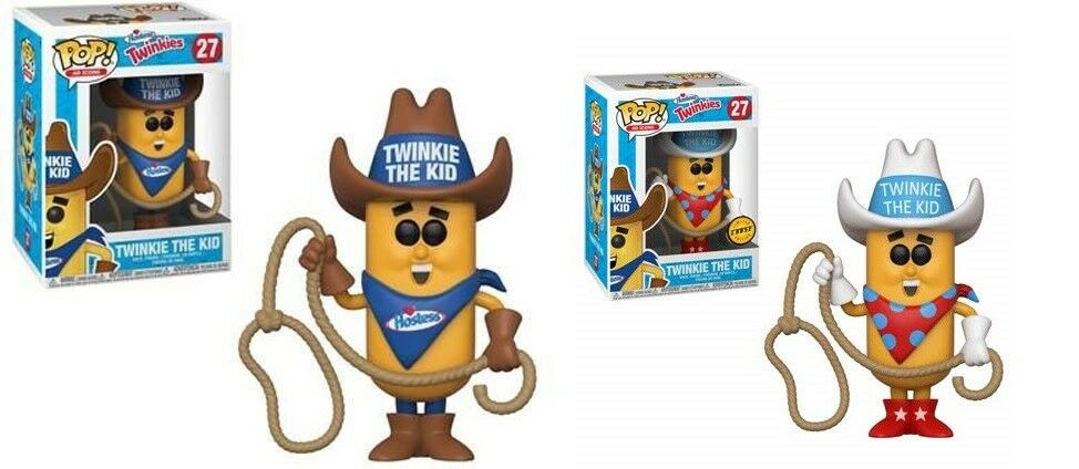 Pop  AD Icons   Hostess Twinkie the Kid Set of 2 Vinyl Figure Funko