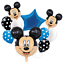 Disney-Mickey-Minnie-Mouse-Birthday-Foil-Latex-Balloons-Blue-Pink-Number-Sets thumbnail 17
