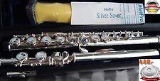 Transverse flute Silver-Flute GERMANY Flauta Traverso Flûte Traversière  Can