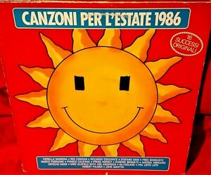 CANZONI-PER-L-039-ESTATE-1986-VVAA-LP-1986-ITALY-MINT-Mannoia-Red-Canzian-Oldfield