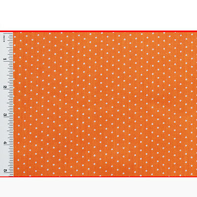 Pin Spot POLYCOTTON FABRIC - Fat Quarters - 22inch x 19. Wide Spotted Polka Dot