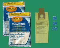 18 Vacuum Bags Kenmore U O L 50688 50690 Miele Type Z Panasonic U2 Sanyo Pu1