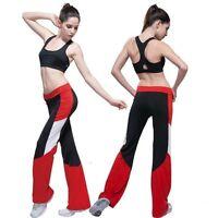 Brand Women's Activewear Yoga Clothing Fitness Aerobics Sport Yoga Long Pants