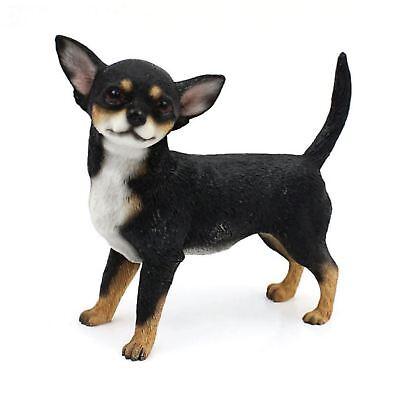 Leonardo Collection Black Pug Figure Ornament Dog Pet Resin Figurine Gift Box