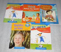 Houghton Mifflin Online Leveled Books 4.2.9 Lot 5 Easy Readers Homeschool Set