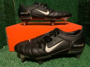 6b5d9f660c57 NIKE AIR ZOOM TOTAL 90 SUPREMACY FG Black FOOTBALL BOOTS 9 8 42