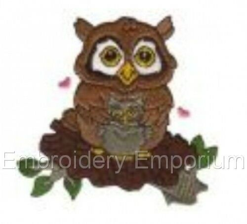 MACHINE EMBROIDERY DESIGNS ON CD OR USB AWESOME OWLS COLLECTION