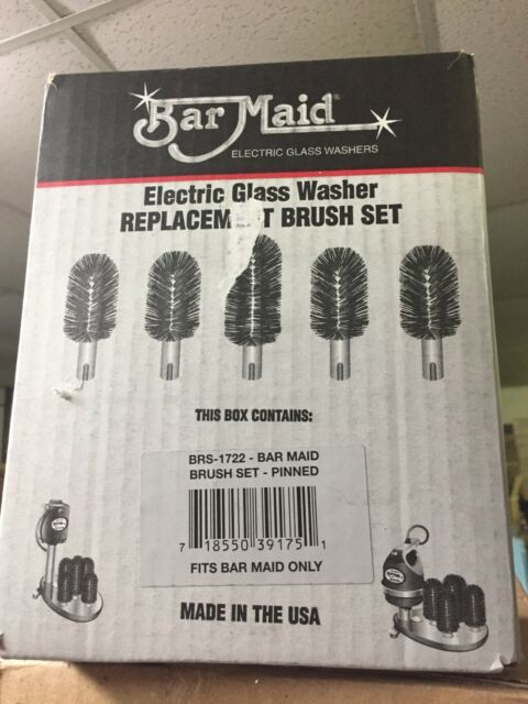 Bar Maid BRS-1722 Standard Replacement Brush Set For BarMaid Glass Washers