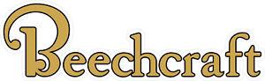 "#5075b (2) 13"" Beechcraft Aircraft Safety Decal Sticker LAMINATED GLOSS"