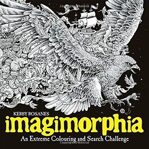 MALBUCH-fuer-ERWACHSENE-IMAGIMORPHIA-Zen-Art-Therapy-Adult-Coloring-Book