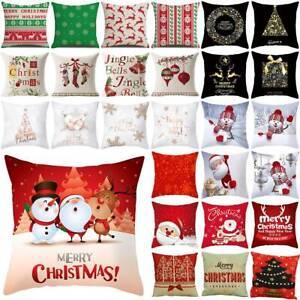 Weihnachten Kissenbezüge Kopfkissenbezug Kissenhülle Haus Couch Kissen Hülle