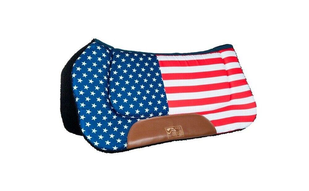 Westernpad -Stars & Stripes- HKM Flag USA VollBlaut WarmBlaut