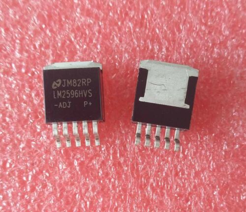10PCS LM2596HVS-ADJ LM2596HVS TO-263 IC NSC