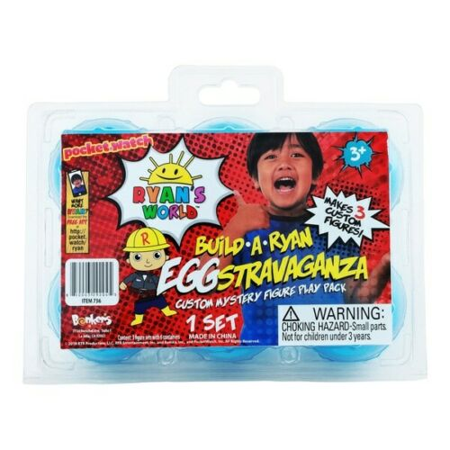 Brand New Ryan/'s World Ryan/'s World Build a Ryan Eggstravaganza