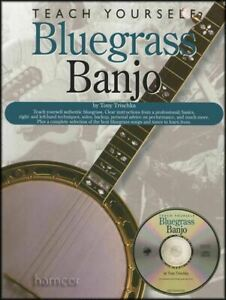 Details about Teach Yourself Bluegrass Banjo TAB Book/CD Learn How to Play  Beginner Method