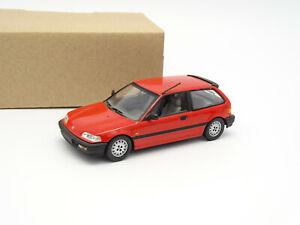 MINICHAMPS-Sb-1-43-Honda-Civic-1990-Red