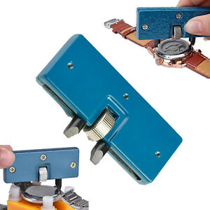 Adjustable-Rectangle-Watch-Back-Case-Cover-Opener-Remover-Wrench-Repair-Kit-Tool