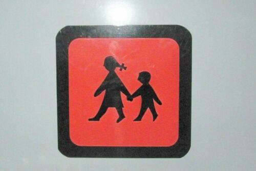 Schulbusschild 23x23 cm Magnetschilder Warntafel