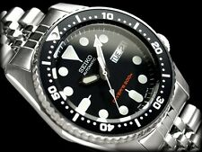 Seiko Men's Automatic Diver's Mid Size Face 200m Watch SKX013K2, Warranty,Box