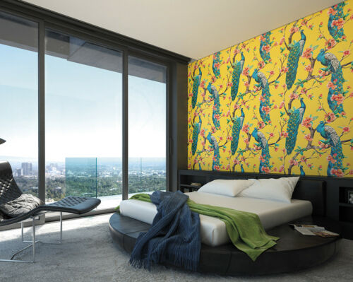 Ohpopsi Sunshine PAONS ET FLEURS Mural Wall Art