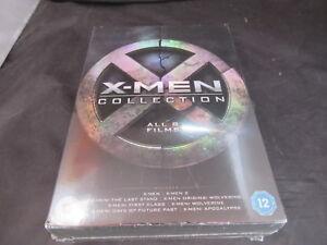 DVD-Boxset-X-Men-Collection-8-Films-upto-Apocalpyse-1-8-New-Sealed-Damaged
