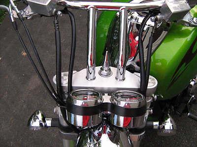 KAWASAKI MEANSTREAK 1600 CHROME SPIKE SEAT BOLT rear fender mount vn1600 vn *6*