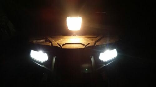 Polaris Sportsman EPS X2 550 850 Super White LED Headlights 50W Bulbs 2010 2011