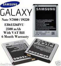 Samsung Battery Galaxy Note 1 N7000 / I9220 EB615268VU 2500 mAh With VAT Bill