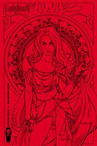 Lady Death Richard Ortiz Oblivion Kiss #1 Incentive Edition
