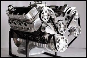 Details About Bbc Chevy 572 Turn Key Engine Merlin Iv Block 740 Hp Serpentine