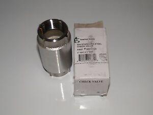 1 americn granby stainless steel check valve water pump pressure tank sscv100 ebay. Black Bedroom Furniture Sets. Home Design Ideas