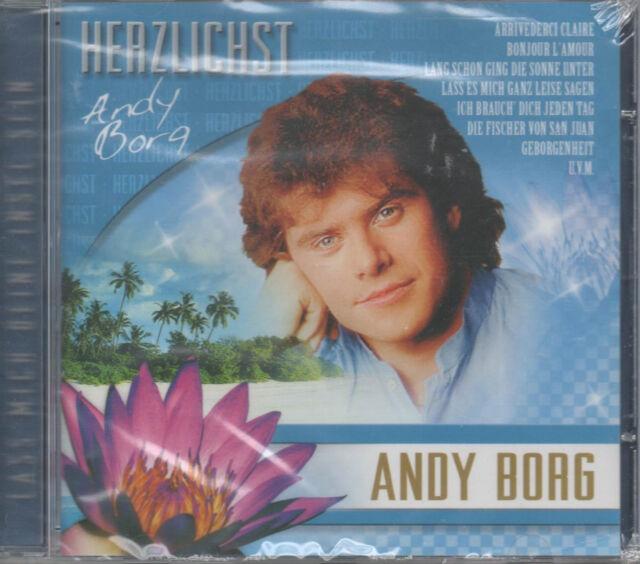 Andy Borg Herzlichst Lass mich Deine Insel sein CD NEU Arrivederci Claire