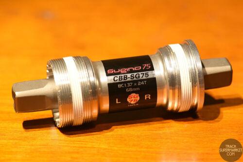 NJS Crank Sugino 75 Sealed Bearing Bottom Bracket CBB-SG75 ISO Track Pista
