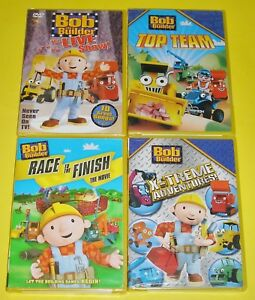 Bob-the-Builder-DVD-Lot-The-Live-Show-Top-Team-Race-to-the-Finish-X-Treme-New