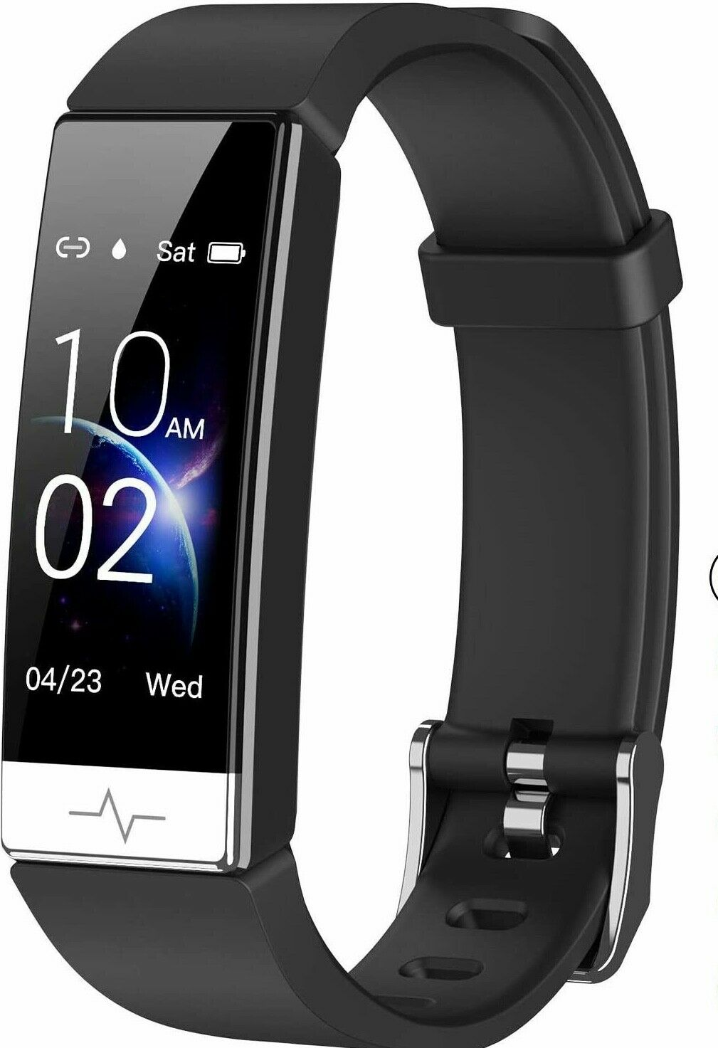 Mgaolo Fitness Tracker with Blood Oxygen SpO2 Blood Pressure Heart Rate Sleep